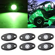 Interior Car Led Light Kits Amazon Com Led Rock Light Kits 6 Pod Led Light Lamp For Interior