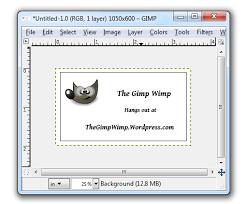 Business Card Sheet Template Ten Card Template For Gimp Business Cards Wimpy Tricks For Gimpers