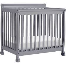 Mini Crib Davinci Davinci Kalani 2 In 1 Convertible Mini Crib Gray Walmart