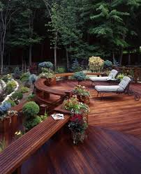 Backyard Decks Images by 30 Outstanding Backyard Patio Deck Ideas To Bring A Relaxing Feeling