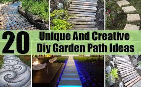 20 unique and creative diy garden path ideas home so good
