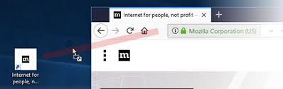 comment faire un raccourci sur le bureau créer un raccourci bureau vers un site web assistance de firefox