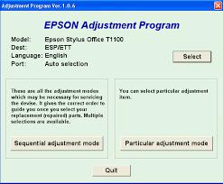 resetter epson stylus office t1100 download resetter epson t1100 printer tools