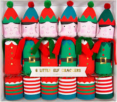 christmas crackers meri meri set of 6 christmas crackers 45 1900