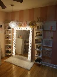 Bedroom Vanity Mirror With Lights Awesome Vanity Mirror With Lights For Bedroom Also Decorations