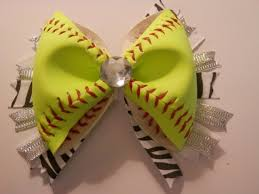 softball bows softball hair bows picmia