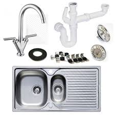 Astracast Stainless Steel Kitchen Sink  Bowl With Kitchen Mixer - Sink bowls for kitchen
