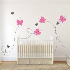 Removable Wall Decals For Nursery Nursery Butterfly Wall Decal Removable Wall Decals Wall
