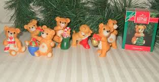 vintage hallmark cinnamon bear christmas ornaments hallmark