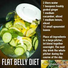infused water reviews bad breath lemon water and flat belly water