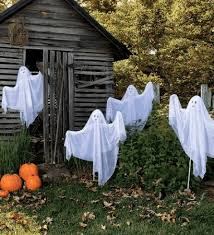 Halloween Decorations Outdoor Scary by Scary Halloween Decorating Ideas For Outside Glowing Led Garden