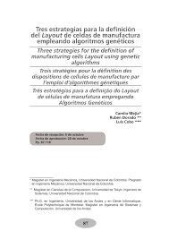 que es layout ingenieria tres estrategias para la definición del pdf download available