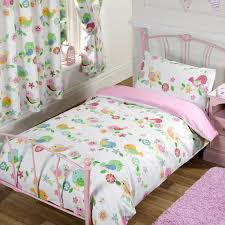 Buy Bedding Sets by Bedding Sets In White Color Basedanf Cute Bird Printing With