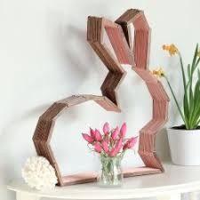 bunny nursery diy modern bunny wall decor for easter or a nursery