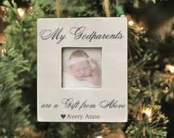 godparent ornament etsy