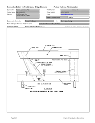 Pedestal Foundation Chapter 3 Substructure Connections Connection Details For Pbes