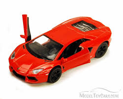Lamborghini Aventador Orange - lamborghini aventador lp700 4 orange kinsmart 5355d 1 38