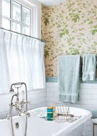 Cafe Curtains For Bathroom Window Treatments For Bathrooms Drapestyle