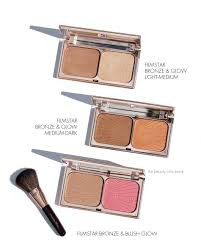 and glow tilbury filmstar bronze and blush glow set the beauty