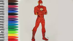 flash coloring pages flash justice league fun pages