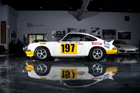 rally porsche 1973 porsche 911rs fully documented monte carlo and tour de