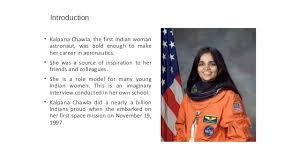 kalpana chawla short presentation