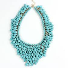 necklace chunky images Buy unique semi precious stone pendant choker jpg