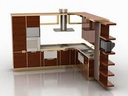 foundation dezin decor 3d kitchen model design foundation dezin decor 3d kitchen model