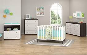 cosco willow lake changing table white gray amazon com ameriwood home willow lake 6 drawer dresser espresso baby