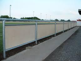 Galvanised Handrail Dvf Spectator Handrail