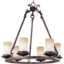 maxim lighting notre dame 6 light oil rubbed bronze chandelier