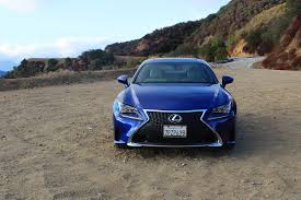 sporty lexus blue 2016 lexus rc 350 f sport one week review automobile magazine