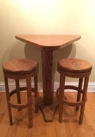 Bar Table And Stool 2 Bar Stools Mini Bar Table Furniture In Chicago Il