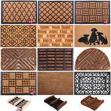 Coir And Rubber Doormat Coir Door And Floor Mats Ebay