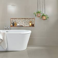 Tiles For Bathrooms Uk Wickes Infinity Ivory Porcelain Tile 600 X 600mm Wickes Co Uk