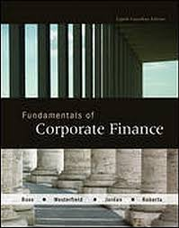 fundamentals of corporate finance 8th canadian edition unknown