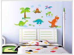 Kids Dinosaur Room Decor Aliexpress Com Buy Cartoon Dinosaurs Wall Sticker For Kids Baby