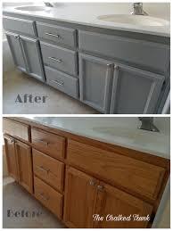 using rustoleum chalk paint on kitchen cabinets gray kitchen cabinets painted with chalk paint page 1