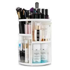 hair and makeup organizer jerrybox 360 degree rotating makeup organizer 14 77 after