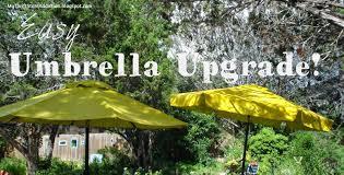 Paint Patio Umbrella My Thrift Store Addiction Easy Umbrella Upcycle