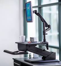 healty and happy with standing desk finding desk