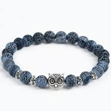 natural stone beaded bracelet images Animal natural stone beads bracelets various styles colors jpg