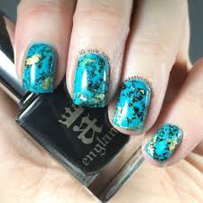turquoise nail art tutorial keely u0027s nails