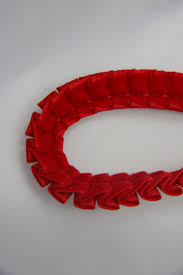 pleated ribbon pleated velvet ribbon