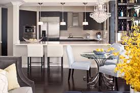 Glass Table Kitchen by Glass Pedestal Table Kitchen Contemporary With Breakfast Bar Built