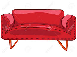 Home Furniture Sofa Cartoon Home Furniture Sofa Royalty Free Cliparts Vectors And