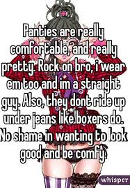 Real Comfortable Jeans Panties Are Really Comfortable And Really Pretty Rock On Bro I