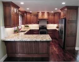 kitchen paint colors with dark cherry cabinets