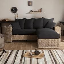 canape en osier canapé convertible osier rotin canapé idées de décoration de
