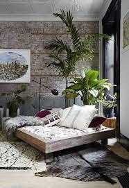 chambre deco nature décoration nature une chambre bohème à l esprit loft boho et